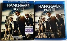THE HANGOVER PART III BLU RAY + DVD 2 DISC SET WITH SLIPCOVER SLEEVE