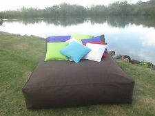 Extra Large Bean Bag   The BIG KAHUNA r available in Choc Turquoise Black Purple
