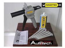 Innotec topfix Plástico Kit de reparación-gun/glue + 6 Boquillas 07.1435 & X905 & 90.2907