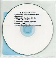 (AB10) Belladonna, Belladonna At The Bada Bing - DJ CD