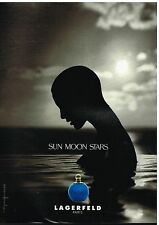 Publicité Advertising 1995 Parfum Sun Moon Stars par Lagerfeld
