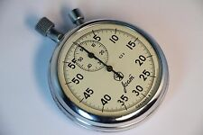 GOOD Stopwatch Agat Mechanical Pocket Chronometer Russian Soviet USSR Worldwide