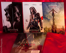 Assassins Creed 4K Ultra HD Blu-ray Exclusive Lenticular SteelBook + Art Cards