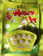 Hit Gopher Keychain Whac A Mole Whack Hamster Key Ring Game Toy Christmas Gift