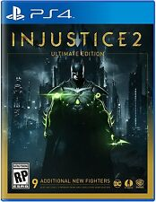 Injustice 2 Ultimate Edition - Playstation 4 PREORDER PS4 Steel Book Case 5/16