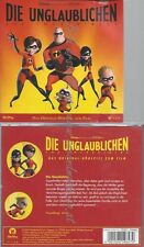 CD--WALT DISNEY - - -- DIE UNGLAUBLICHEN. THE INCREDIBLES. LAYOUTVERSION. CD . D