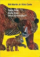 Baby Bear, Baby Bear, What Do You See? Board Book (World of Eric Carle) by Marti