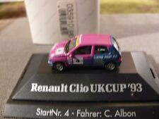 1/87 Herpa Renault Clio Ukcup '93 #4 C. Albon GB 035910