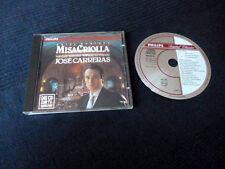 CD JOSE CARRERAS Ariel ramirez Misa Criolla Navidad Nuestra philips w-germany 88