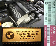 BMW E36 325 i/is E34 525 i/ix EWS delete +18hp Chip stage 1 M50 413 ECU (remap)