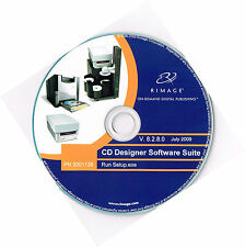 RIMAGE THERMAL PRINTER CD/DVD DESIGNER SOFTWARE SUITE V 8.2.8.0