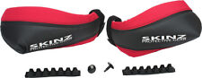 Skinz Heat Loc Hand Guards for Snowmobile ATV HGP100-BK/RD
