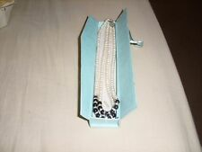 FRESH WATER PEARL NECKLACE TWIN ROPE IN A GIFT BOX  FROM CHINA