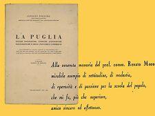 La Puglia Folclore Agiografia Industria Predome Lorenzo Santi Bari 1959