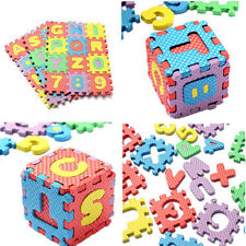 36pc Hot Collections  Toy Foam Floor Alphabet & Number Puzzle Mat For Kids  ZZ