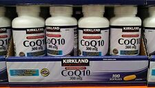 Kirkland Signature CoQ10 300 mg 100 softgels Maximum Potency EXP 10/19 or later