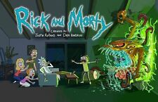 RICK AND MORTY - TV SHOW POSTER 24x36 - 51848