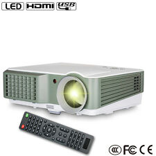 4000lumens LCD LED Projectors Home Theater HD 1080p Video HDMI*2/USB*2 VGA USA