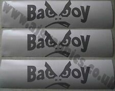 3 x bad boy vinyle cut decal/graphique/autocollant