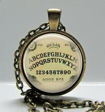 Ouija Board Round Setting Pendant Charm or Keychain Jewelry Game Board Image