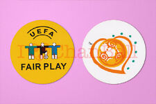 UEFA Euro 2004 + Fair Play Football Sleeve Plastic Soccer Patch / Badge