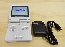 Nintendo Game Boy Advance GBA SP Pearl White System AGS 101 Brighter MINT NEW