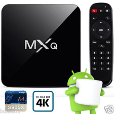 M8S MXQ PRO 2017 4K Quad Core Smart Android 6.0 TV Box Fully Loaded Media Player
