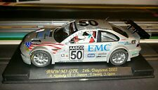 BMW M3 GTR FLY 88009 A285 #50 EMC2 24H Daytona 2002 slot car 1/32 new nuova
