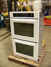 "KITCHENAID 30"" ARCHITECT CONVECTION DOUBLE OVEN KEBS208SWH WHITE@ 45% off $3,495"