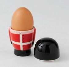 A23455  Soldier Novelty Egg Cup with Lid  NEW in BOX  16499