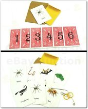 CREATURE CARD PREDICTION MIND READING MENTAL ANIMAL PRACTICAL JOKE MAGIC TRICK