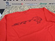 New Dodge Men's SRT Hellcat Logo Inside Out Print Crew Neck T-Shirt Red Large
