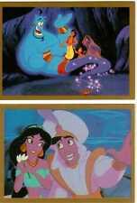 Disney's Aladdin Trading Cards Tarjetas de Promoción S1 y S2 de Skybox 1993