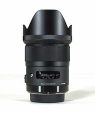 SIGMA 35mm F1.4 DG HSM ART SERIES LENS FOR CANON & BONUS 16GB SD CARD