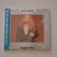 John SYKES - Chapter one - 1998 FIRST PRESS JAPAN CD MINI LP