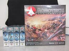 Robotech RPG Tactics - Base Game & 4 Additional Squadrons - 2014 Palladium Books