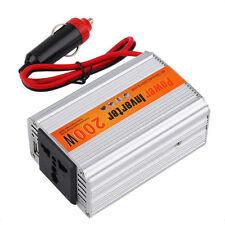 200W Car Auto Inverter Power Supply Adapter 12V DC to 220V AC Laptop Computer MC