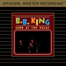 B.B. King Live at the Regal Mobile Fidelity MFSL Ultradisc II 24 KT Gold Disc CD
