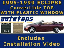 Eclipse Spyder Convertible Top with Plastic Window |COLOR CHOICE | INSTALL VIDEO