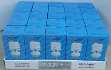 (25) Compact Fluorescent Grow Light Bulbs CFL 42w 42 watt = 150w 150 watt 2700k