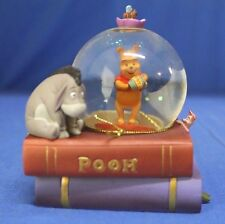 Winnie the Pooh Piglet Together Christmas Tree Snowglobe Disney Hallmark 2006