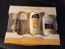 Gillette VENUS SWIRL Gift Set *NEW* Razor, Blades, Shave Gel & Olay Body Lotion