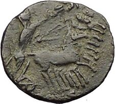 CONSTANTINE I the GREAT Cult  Heaven Horse Chariot Ancient Roman Coin i57481