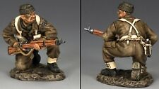 KING & COUNTRY D DAY DD232 BRITISH COMMANDO KNEELING WITH RIFLE MIB