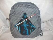NWT Pottery Barn kids Star Wars Backpack Darth Vador Cape