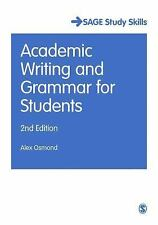 ACADEMIC WRITING AND GRAMMAR FOR STUDENTS - NEW PAPERBACK BOOK