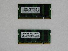 4GB (2X2GB) DDR2 MEMORY RAM PC2-6400 SODIMM 200-PIN