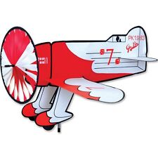 Gee Bee Replica Staked With Pole & Ground Mount Airplane Wind Spinner  PR 26302