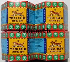 4 Jars x 21ml Red Tiger Balm Rub Muscle Pain Relief ( White Also Available )