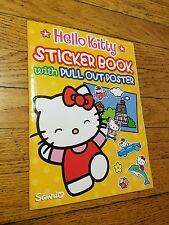 Hello Kitty sticker book and posters new  Sanrio Co official coloring book